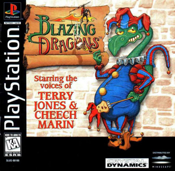 Blazing Dragons U Iso